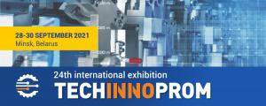 پوستر بیست و چهارمین نمایشگاه بین المللی فن آوری ها، تجهیزات و محصولات صنعتی بلاروس 2021